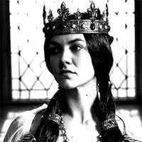 Queen Joan played by Olivia Ross