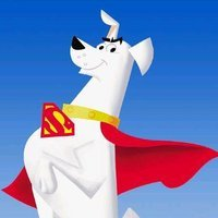 Krypto played by Sam Vincent
