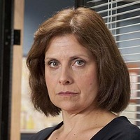 Chief Superintendent Innocent played by Rebecca Front