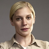 "Victoria ""Vic"" Moretti  played by Katee Sackhoff"