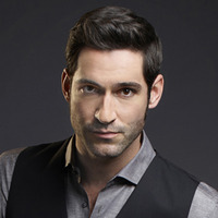 Lucifer Morningstar played by Tom Ellis