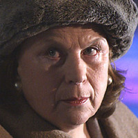 Baba played by Pam Ferris