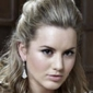 Caggie Dunlop played by Caggie Dunlop