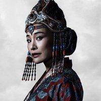 Empress Chabi played by Joan Chen