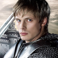 Arthur Pendragon played by Bradley James