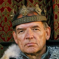 King Alined played by David Schofield (i)