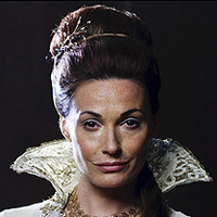 Lady Catrina played by Sarah Parish