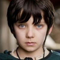 Young Mordred played by Asa Butterfield