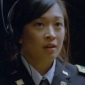 Lieutenant Quigley played by Camille Chen