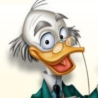 Ludwig Von Drake played by Corey Burton