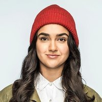 Eliza played by Geraldine Viswanathan