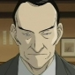 Inspector Lunge played by Tsutomu Isobe