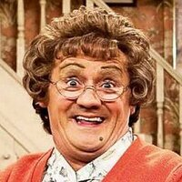 Agnes Brown played by Brendan O'Carroll