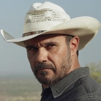 Detective Jay Swan played by Aaron Pedersen