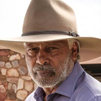 Keith Groves played by Ernie Dingo