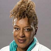 Dr. Loretta Wade played by CCH Pounder