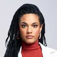 Dr. Helen Sharpe played by Freema Agyeman