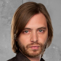 Birkhoff played by Aaron Stanford
