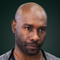 Dr. Prentiss played by Morris Chestnut