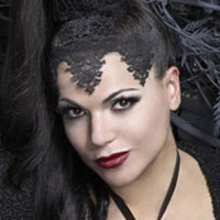 The Evil Queen played by Lana Parrilla