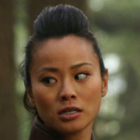 Mulan played by Jamie Chung