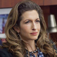 Natalie Figueroa played by Alysia Reiner