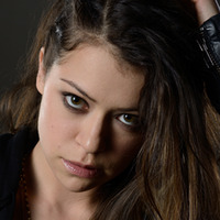 Sarah Manning played by Tatiana Maslany