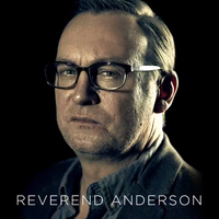Reverend Anderson played by Philip Glenister