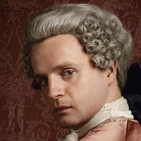 Prince Charles Stuart played by Andrew Gower