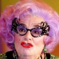 Dame Edna Everageplayed by Barry Humphries