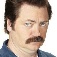 Ron Swanson played by Nick Offerman