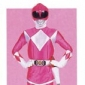 The Pink Ranger played by Amy Jo Johnson