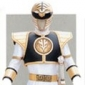 The White Ranger played by Jason David Frank