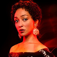 Tulip O'Hare played by Ruth Negga