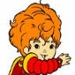 Red Butler Rainbow Brite