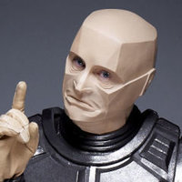 Kryten played by Robert Llewellyn