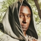 Friar Tuck played by David Harewood