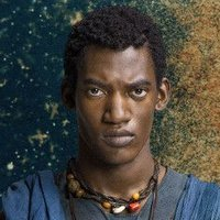 Kunta Kinte played by Malachi Kirby