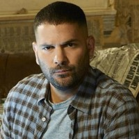 Huck played by Guillermo Diaz