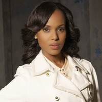 Olivia Pope played by Kerry Washington