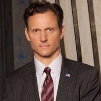 President Fitzgerald Grant played by Tony Goldwyn