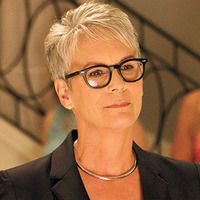 Dean Cathy Munsch played by Jamie Lee Curtis