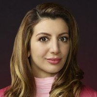 Gigi Caldwell played by Nasim Pedrad