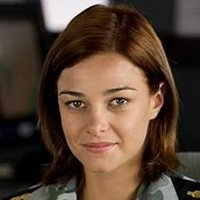 Chef Rebecca 'Bomber' Brown played by Kirsty Lee Allan