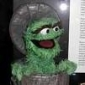 Oscar the Grouch played by Caroll Spinney