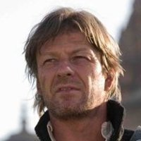 Lt. Richard Sharpe played by Sean Bean