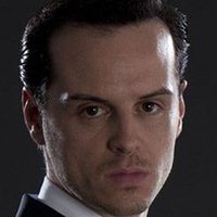 Jim Moriarty played by Andrew Scott
