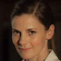 Molly Hooper played by Louise Brealey