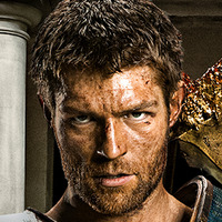Spartacus played by Liam McIntyre