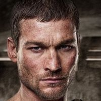 Spartacusplayed by Andy Whitfield